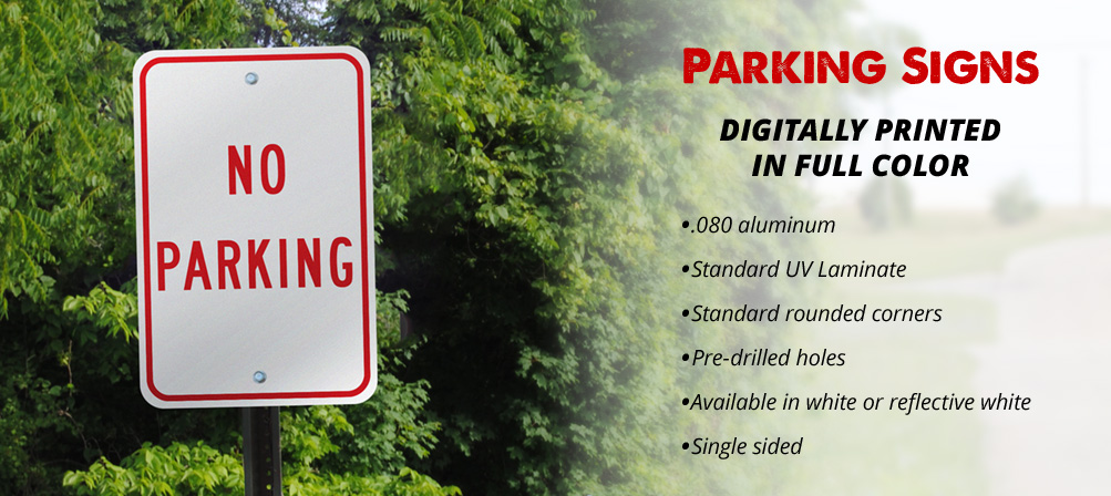 Wholesale Parking Signs